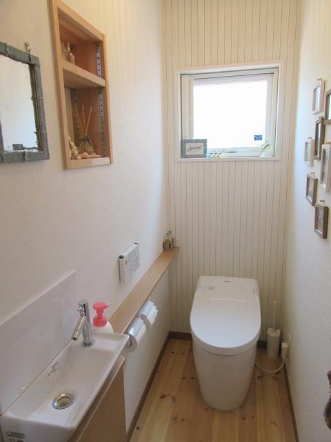 温水洗浄式トイレ