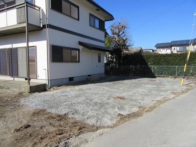 東側の駐車スペース