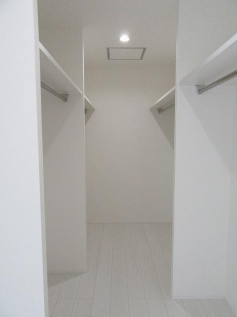 2階洋室のWIC