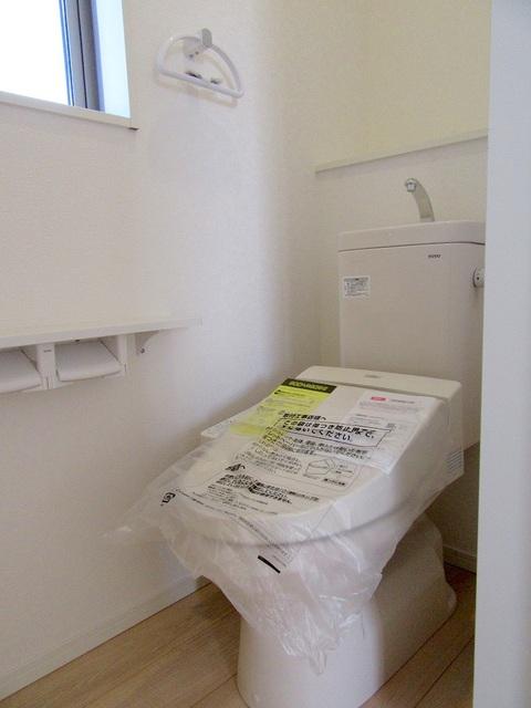 2階温水洗浄式トイレ
