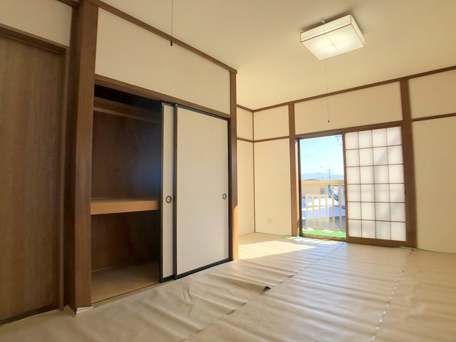 2階和室(10.0帖)・押入