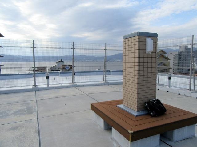 屋上の共用スペース