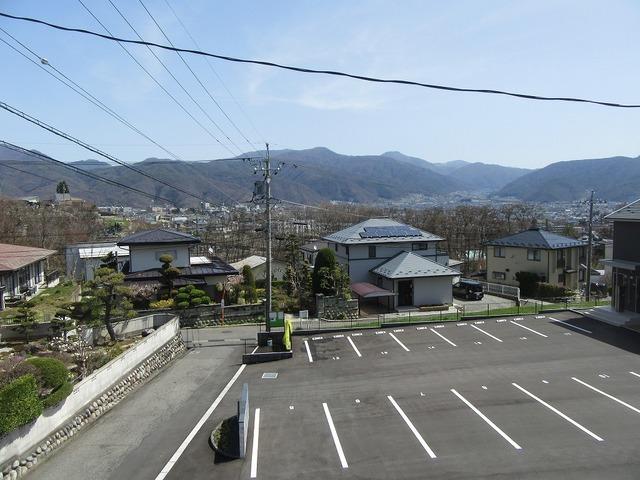 建物2階からの眺望