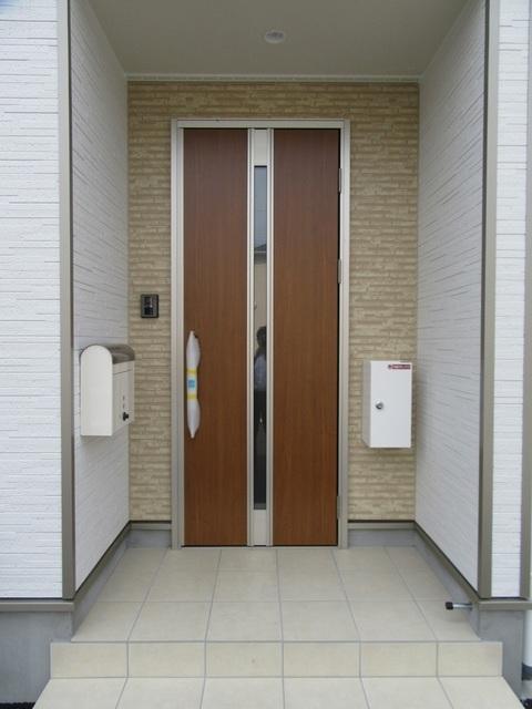 玄関(外側)