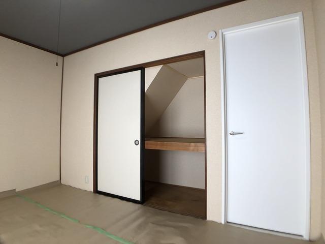 1階和室の押入れ
