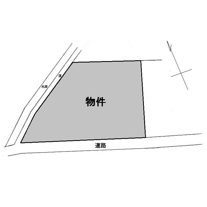 野溝木工土地区画図